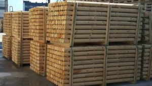 wooden-posts-for-fencing-tree-support